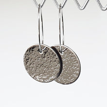 Load image into Gallery viewer, Get Hammered Going Round in Big Circles earrings (clearance sale)