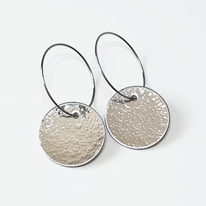 Get Hammered Going Round in Big Circles earrings (clearance sale)