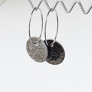 Get Hammered Going Round in Little Circles earrings (limited edition)