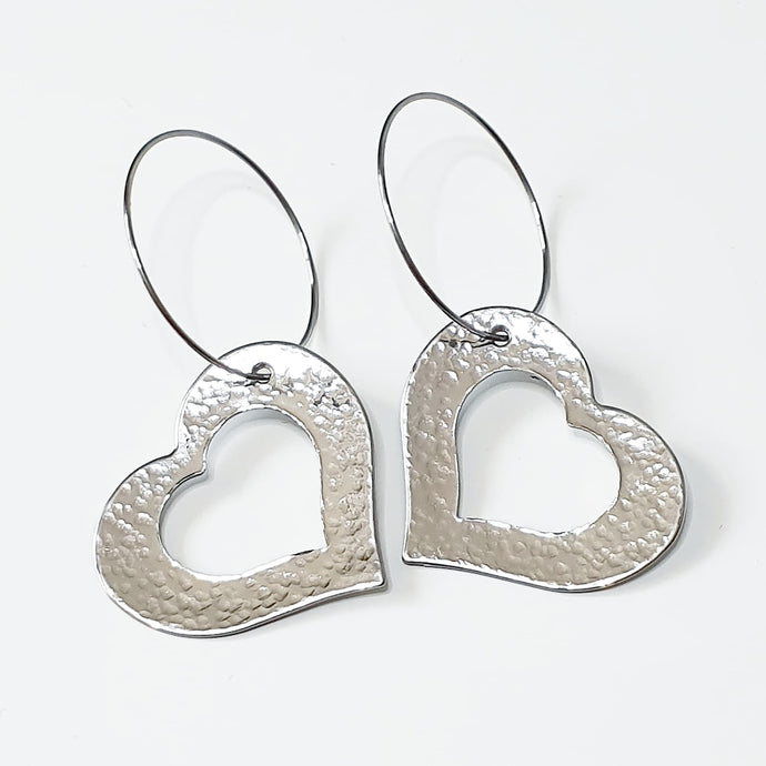 Get Hammered Hole in my Heart earrings (clearance sale)