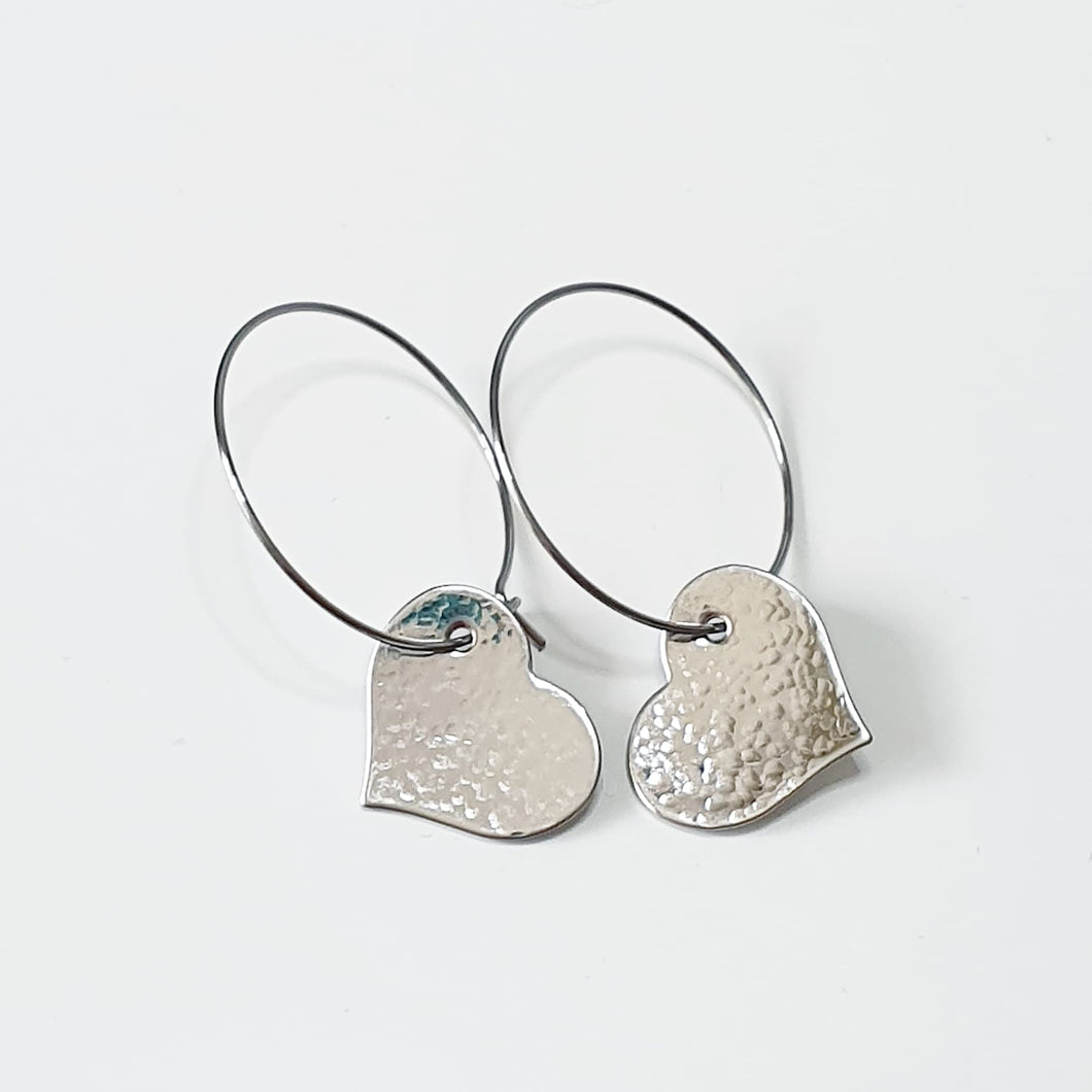 Get Hammered Little Love earrings (limited edition)