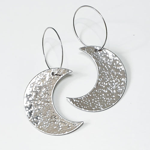 Get Hammered To The Moon earrings (limited edition)