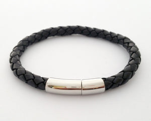 Leather bracelet - single braid