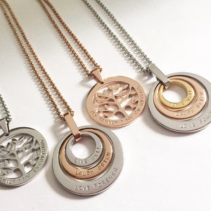 Handstamped necklaces | allure style