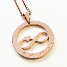Load image into Gallery viewer, Handstamped Infinity Necklace | allure style