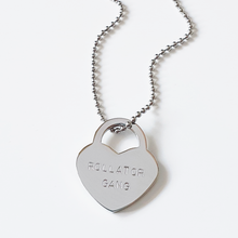 Load image into Gallery viewer, Padlock heart bag charm | rollator gang | allure style