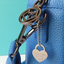 Load image into Gallery viewer, Padlock heart bag charm | shopping is my cardio | allure style