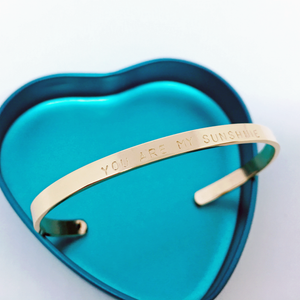 Handstamped Cuff Bracelet (small) | allure style