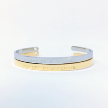 Load image into Gallery viewer, Handstamped Cuff Bracelet (small) | allure style