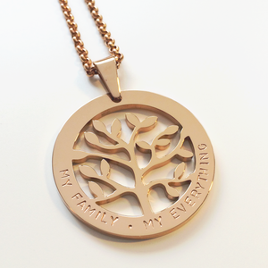 Handstamped Tree of Life Necklace | allure style
