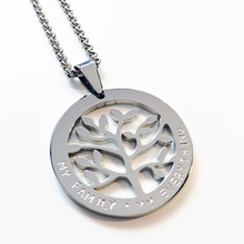 Load image into Gallery viewer, Handstamped Tree of Life Necklace | allure style