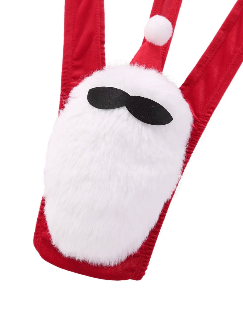Men's Christmas Santa Mankini / Monokini