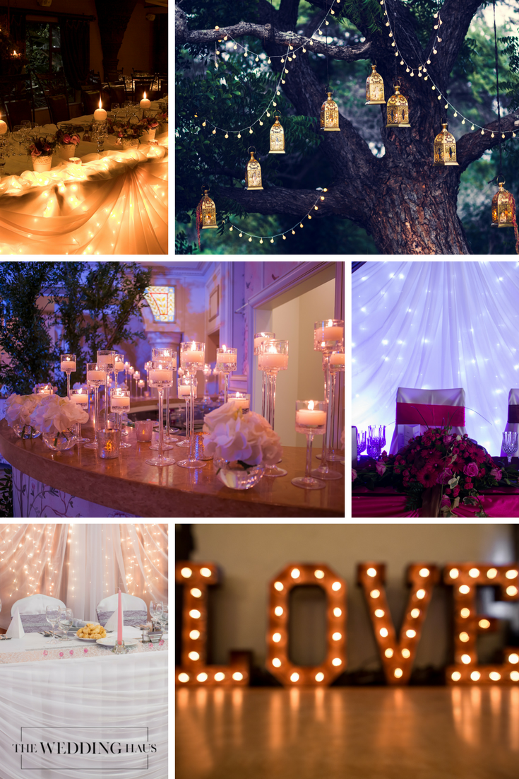 Wedding Lighting for Your Special Day Creates a Stunning Environment from The Wedding Haus