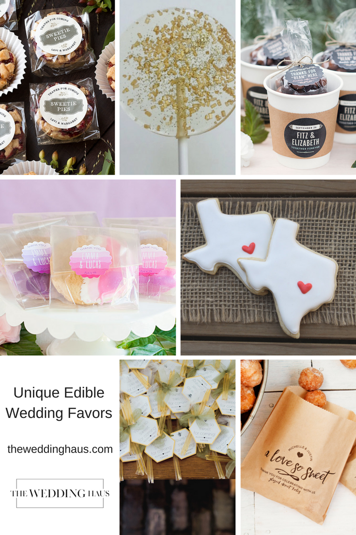 Unique Edible Wedding Favor Ideas Your Guests Will Eat Up The