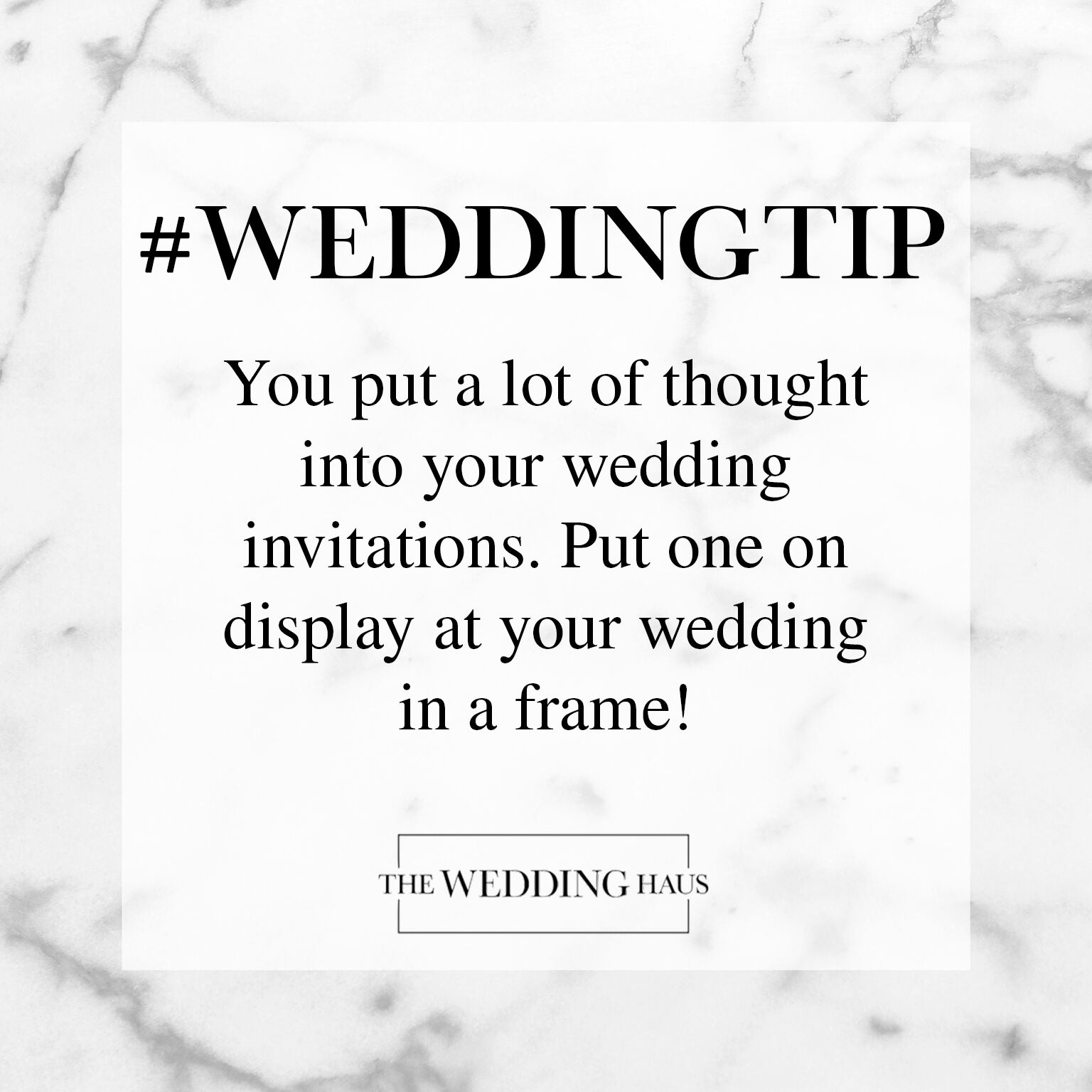 Wedding Invitation Tip from The Wedding Haus