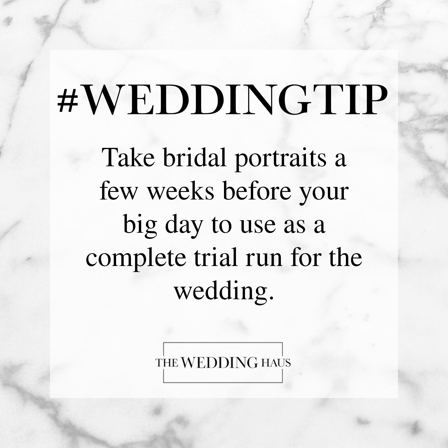 Bridal Portraits Wedding Tip from The Wedding Haus