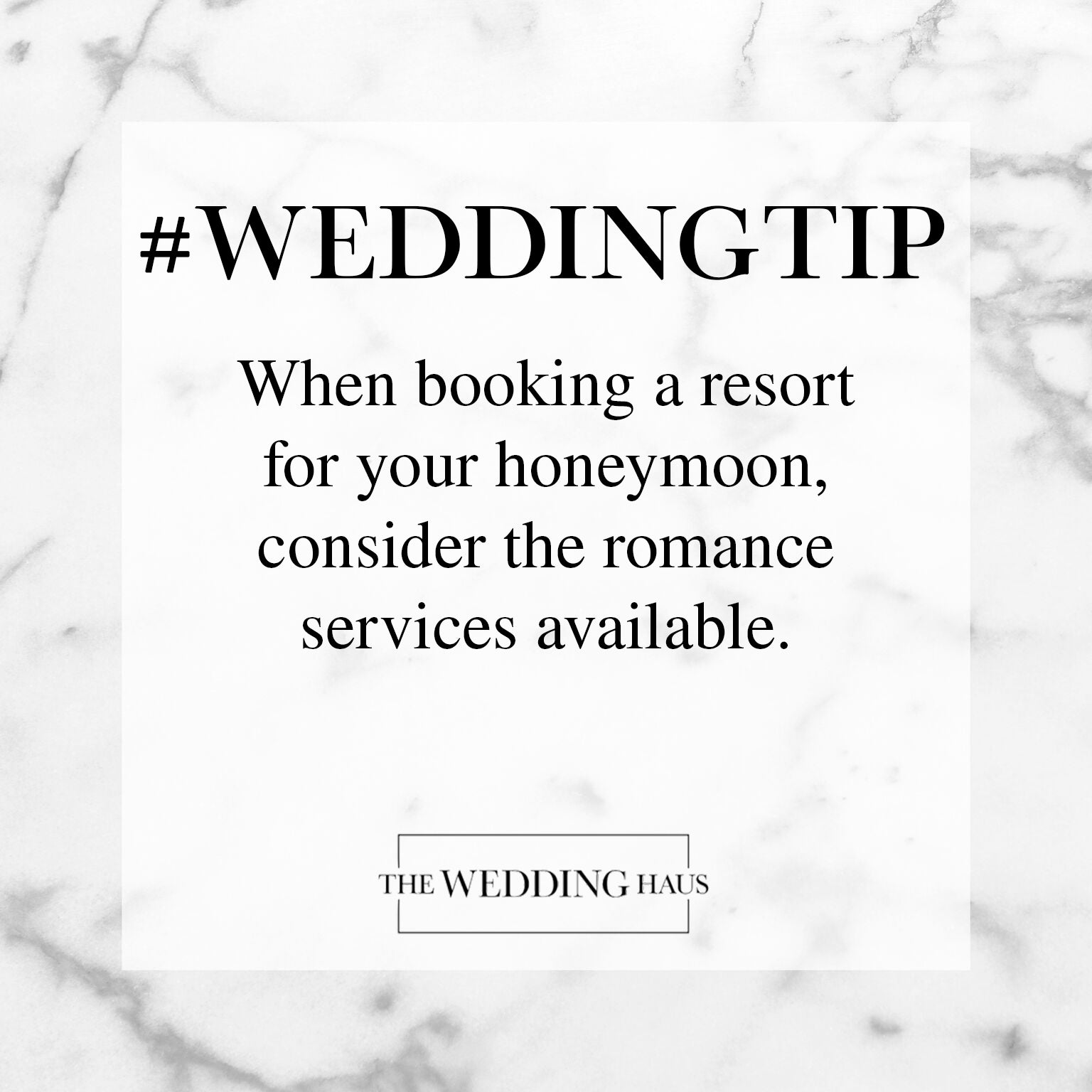 Wedding Tip for Booking a Resort from The Wedding Haus