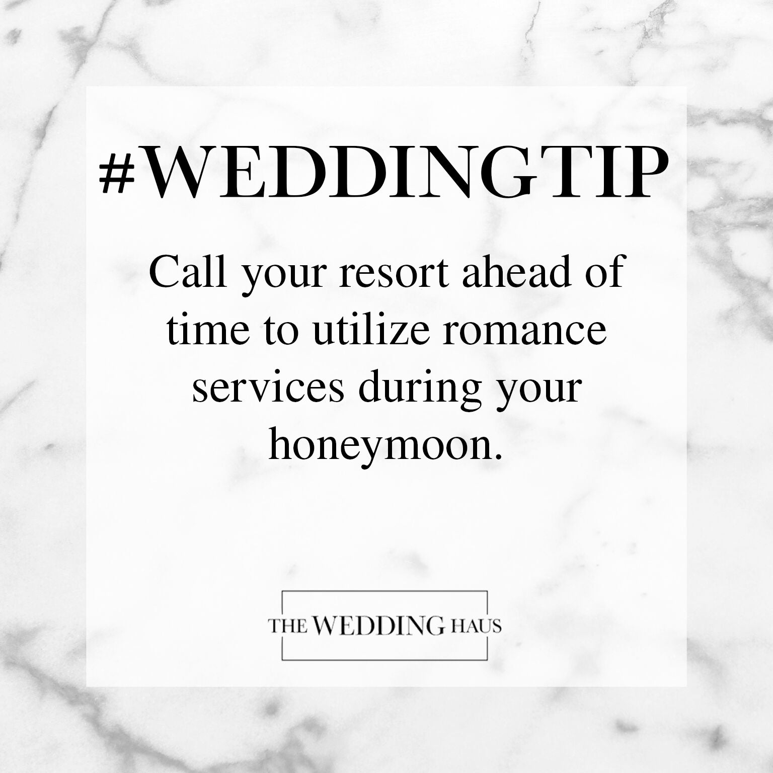 Utilize Romance Services During Your Resort Honeymoon Wedding Tip from The Wedding Haus
