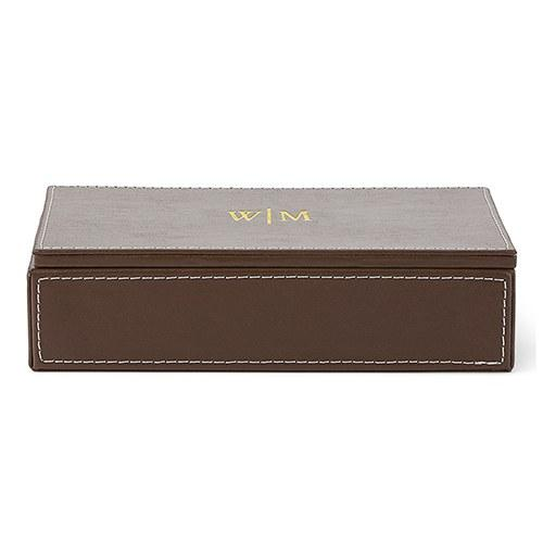 Accessories Box - Line Monogram Emboss-The Wedding Haus