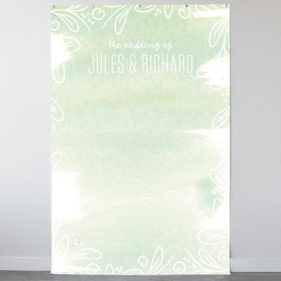 Among the Leaves Personalizable Photo Backdrops-The Wedding Haus