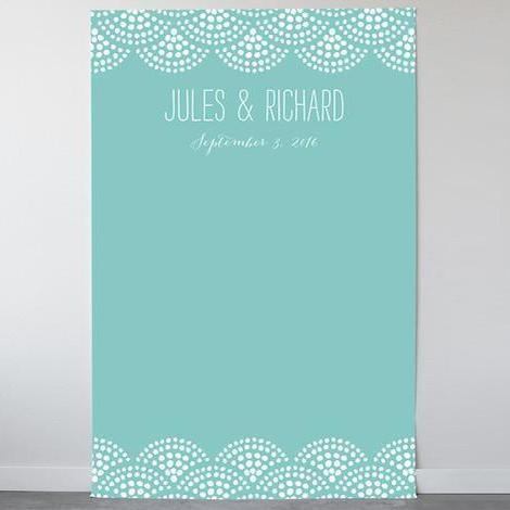 Beach Bohemian Personalizable Photo Backdrops-The Wedding Haus