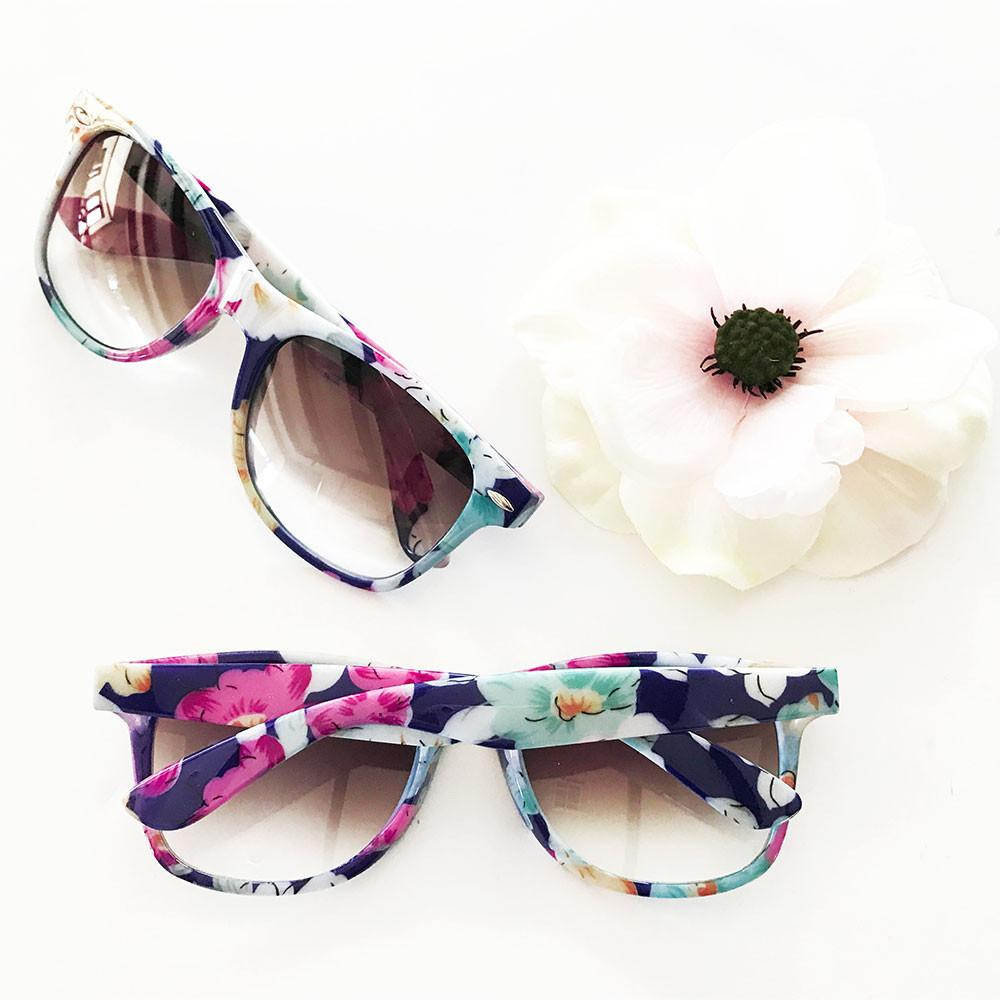 Blank Floral Sunglasses – The Wedding Haus