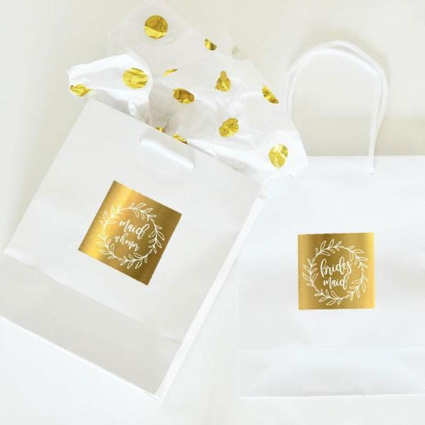 Bridal Party Gift Bags (Set of 6)-The Wedding Haus