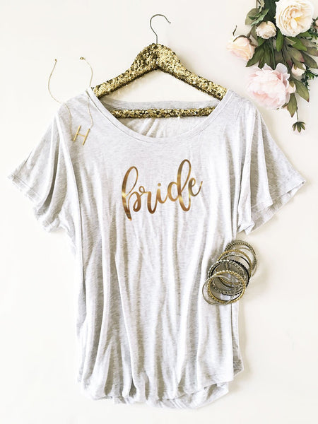 Bridal Party Shirt - Loose Fit-The Wedding Haus