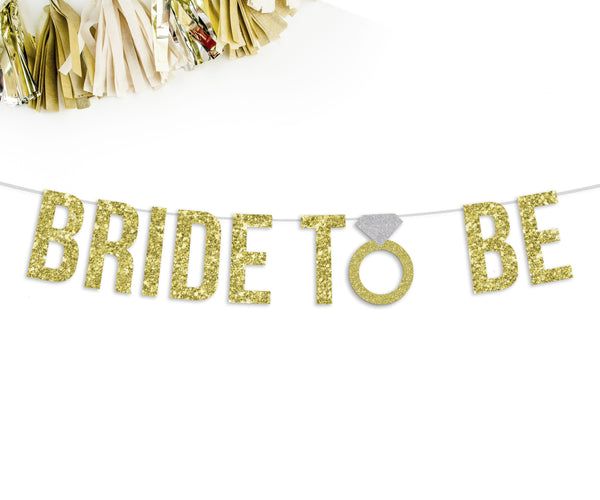 BRIDE TO BE Party Banner-The Wedding Haus