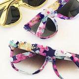 Bride Tribe Floral Sunglasses-The Wedding Haus