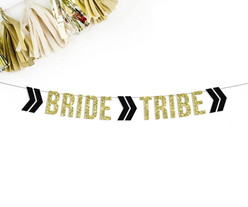 BRIDE TRIBE Party Banner-The Wedding Haus