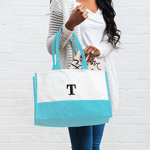 Colorblock Tote-The Wedding Haus