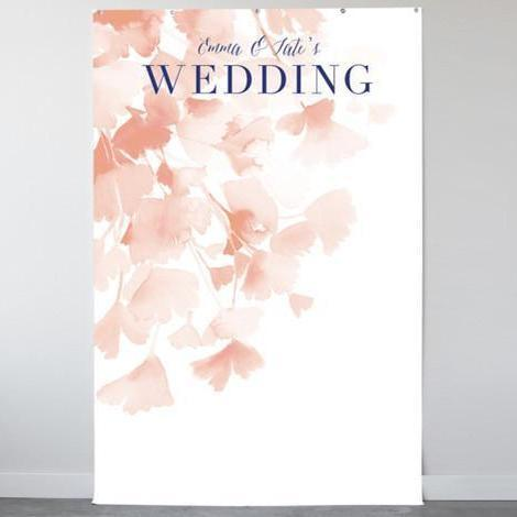 Ginkgo Personalizable Photo Backdrops-The Wedding Haus