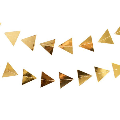 Gold Triangles Garland-The Wedding Haus