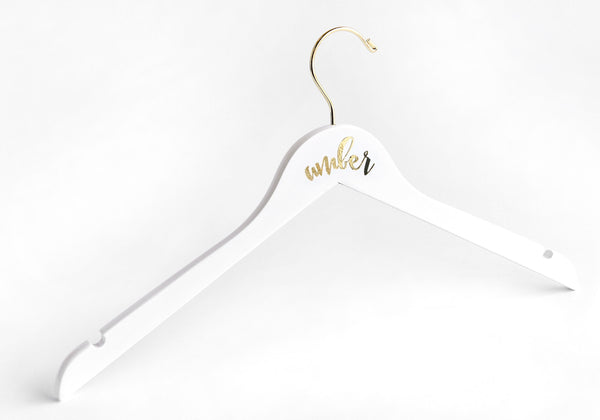 Personalized Bridesmaid Hanger-The Wedding Haus