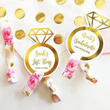 Personalized Hair Tie (Set of 6)-The Wedding Haus
