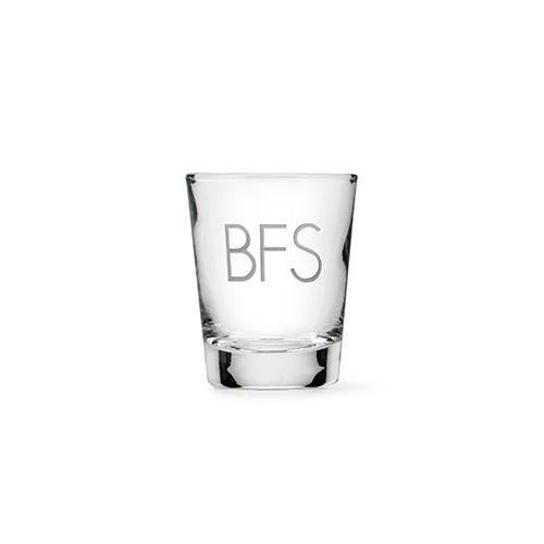 Personalized Shot Glass-The Wedding Haus
