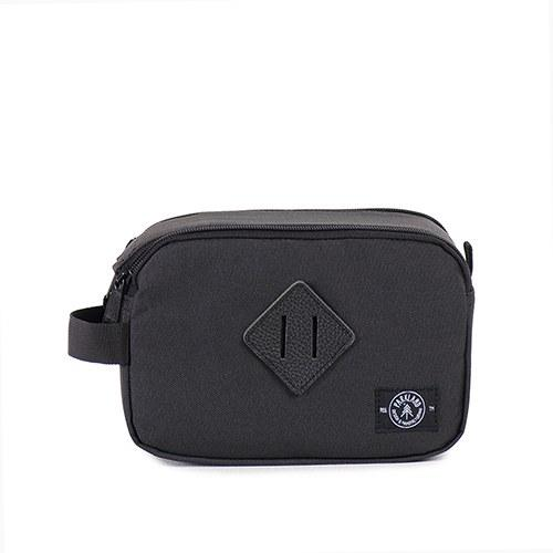 The Valley Travel Kit Bag - Black-The Wedding Haus