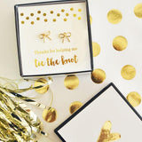 Tie the Knot Earrings-The Wedding Haus