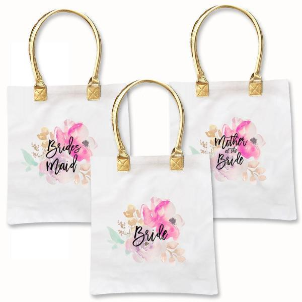 Water Color Tote Bag-The Wedding Haus