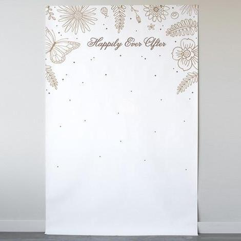 Wildflowers Personalizable Photo Backdrops-The Wedding Haus