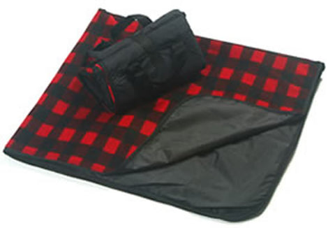 Active Family Products Premium Large Waterproof, Windproof, Quilted Fleece Stadium Blanket