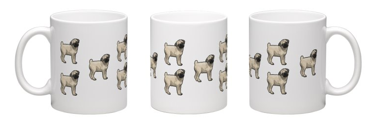 Pug Edition Mutt Mug - 325ml