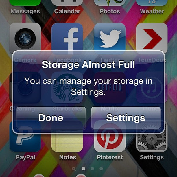 Storage Full? Never Again!