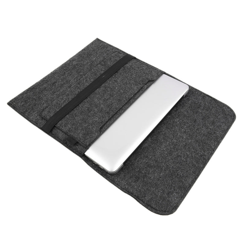 "Wool / Felt Laptop Sleeve for Macbook 13"" 15"""