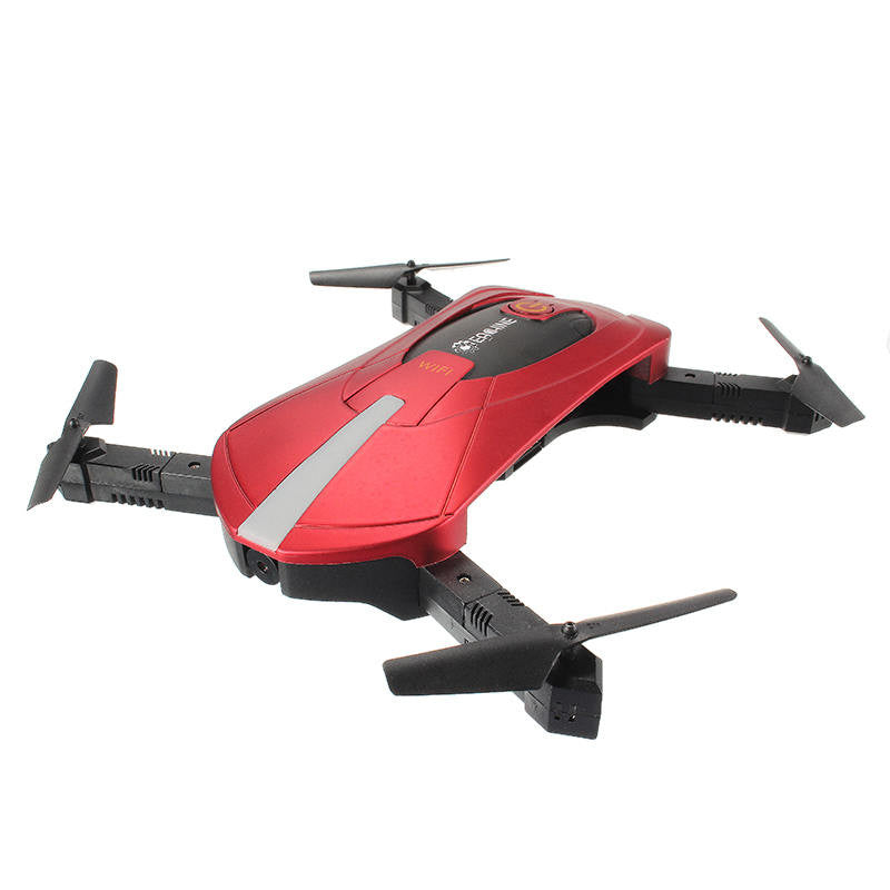Foldable WiFi Drone, Fly With Phone or Remote.