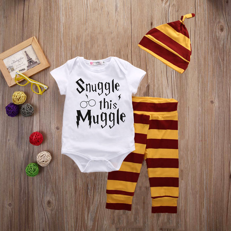 Snuggle Your Muggle baby outfit set 3 pcs