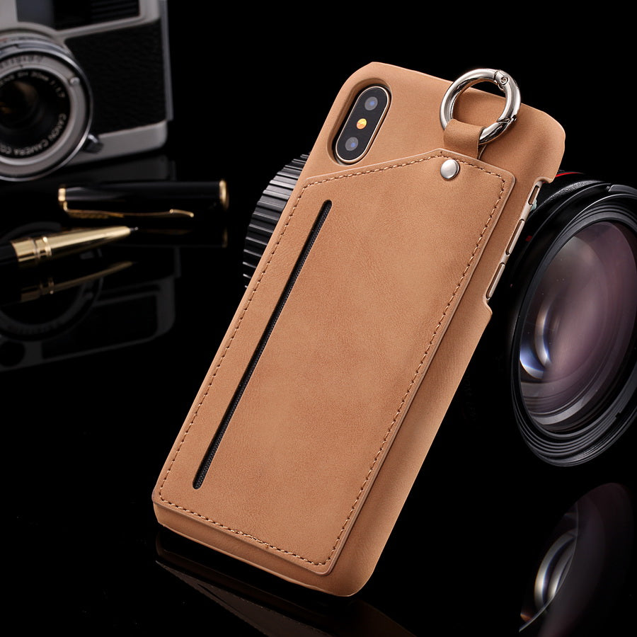 iPhone X Case Luxury Leather Wallet