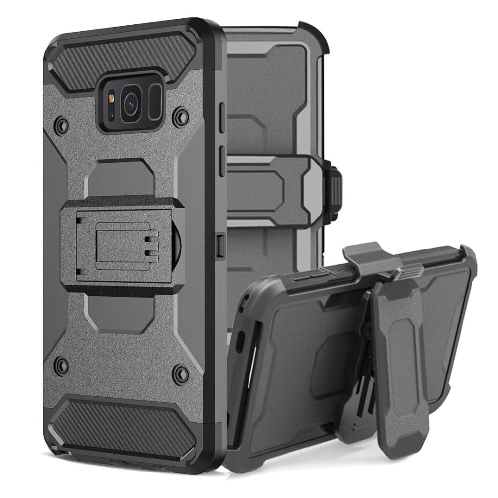 Galaxy S8 Military Grade + Case Shockproof Full Body Armor