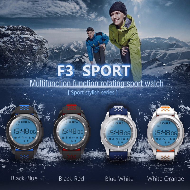 FORNORM F3 GPS Smart Watch for Apple / Android